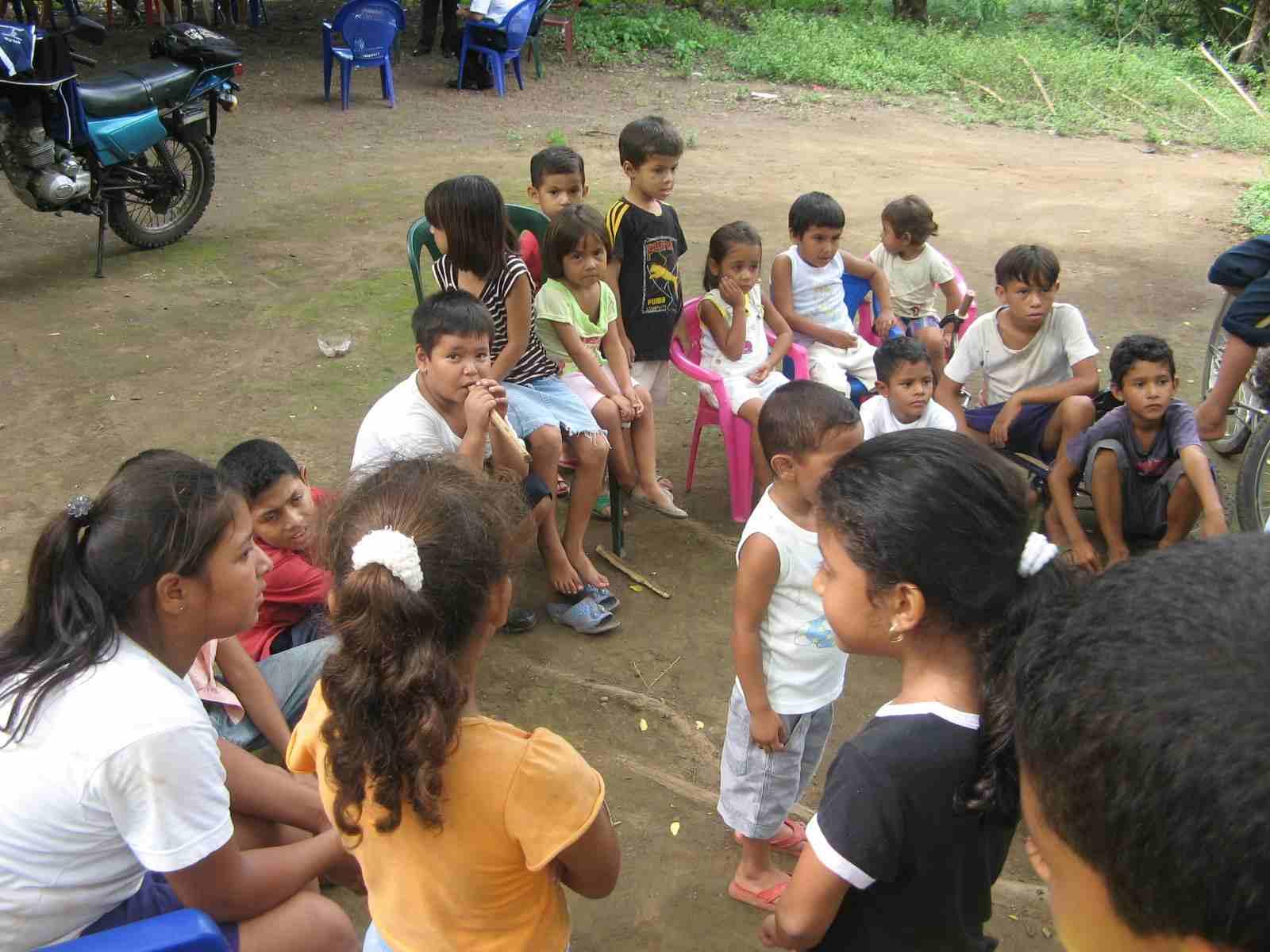 Children hearing the Word