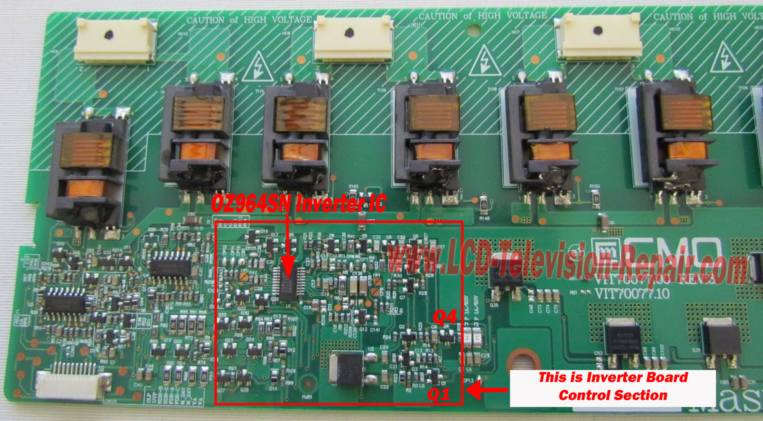 hight resolution of fix lcd inverter board