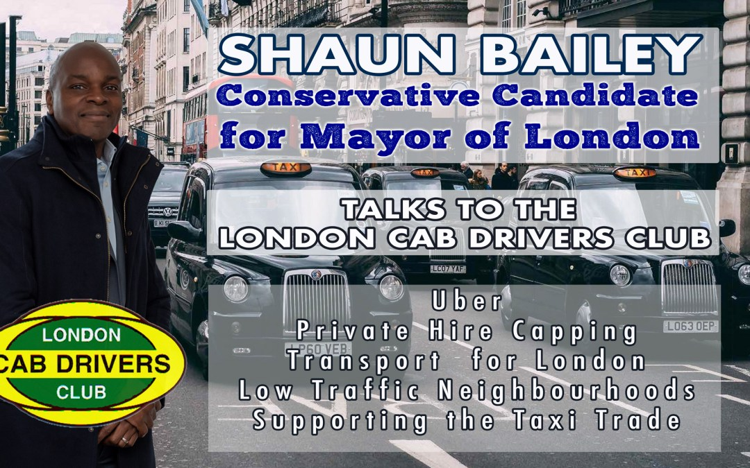 Shaun Bailey Conservative Candidate