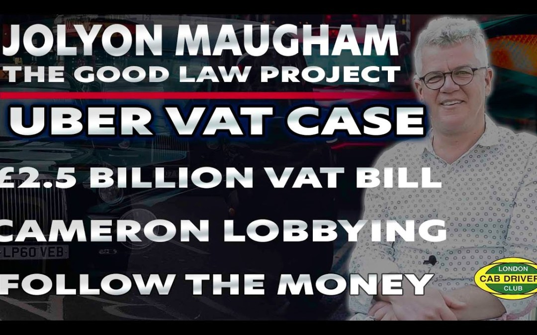 Follow The Money   Uber VAT Case   Interview with Jolyon Maugham