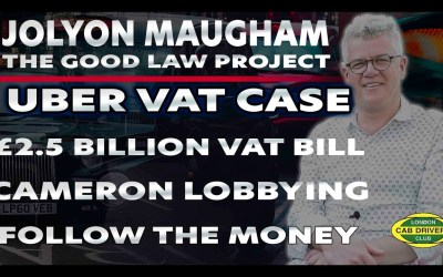 Follow The Money | Uber VAT Case | Interview with Jolyon Maugham