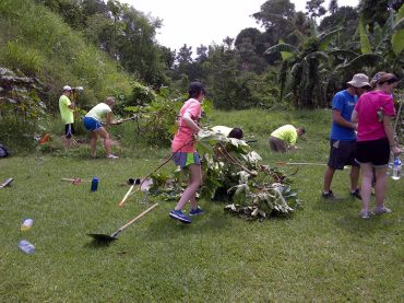 Faithbridge Youth Group clearing
