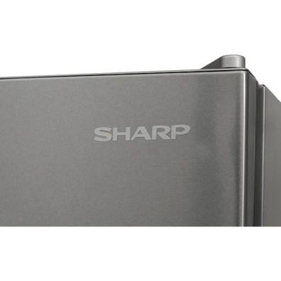 Frigider cu o usa SHARP SJ-LC31CHXI1-EU, NoFrost, 380 l, H 186 cm, Clasa A+, argintiu