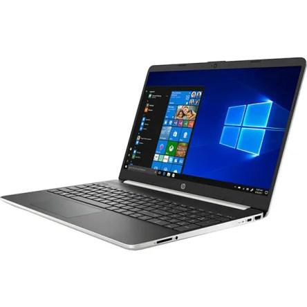 """Laptop HP 15s-fq1029nq, Intel Core i5-1035G1 pana la 3.6GHz, 15.6"""" Full HD, 16GB, SSD 512GB, Intel UHD Graphics, Windows 10 Home S, argintiu"""