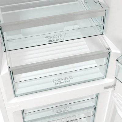Combina frigorifica GORENJE RK6193AW4, FrostLess, 352 l, H 185 cm, Clasa D, alb