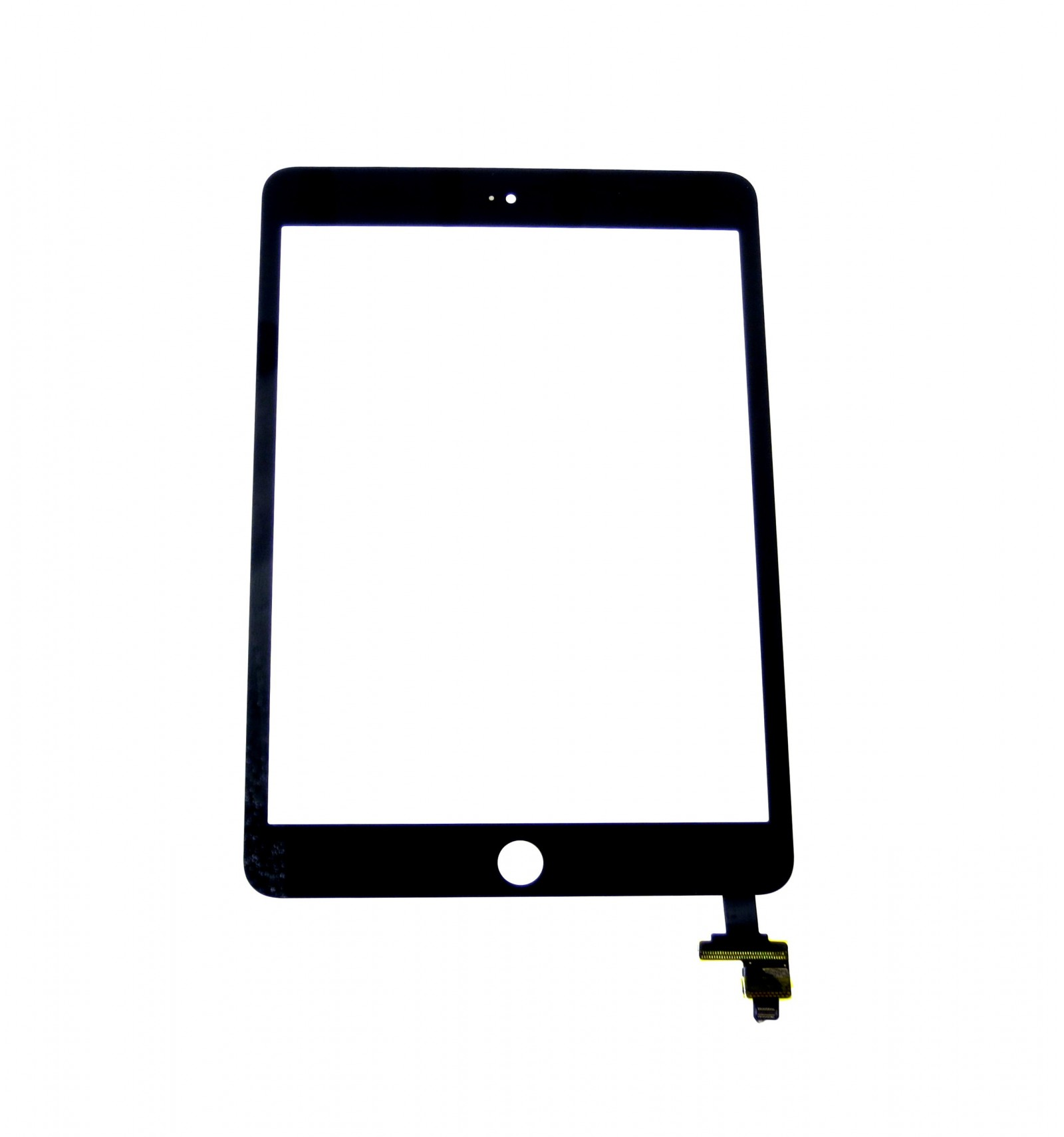 Touch screen + IC connector black replacement for Apple