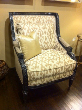 marge carson chairs bamboo baby chair custom francesca sofa setfrom - lcdq