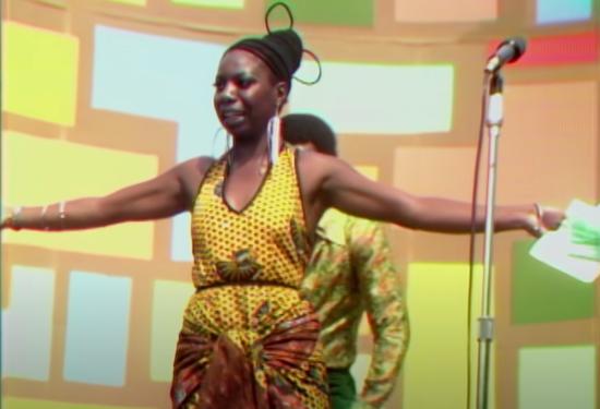 Nina Simone at the Harlem Cultural Festival
