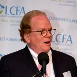 David Sturges speaks at Lung Cancer Foundation of America event