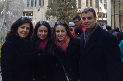 Donna-Lee Lista and family