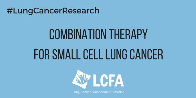 Combination therapy for small cell lung cancer shows promise.