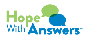 Hope with Answers logo - click to return to Hope With Answers homepage