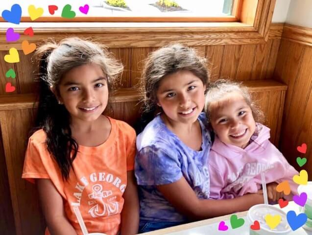 Millie's daughters