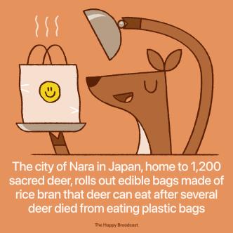 """""""Shikagami,"""" or Deer Paper Bag"""