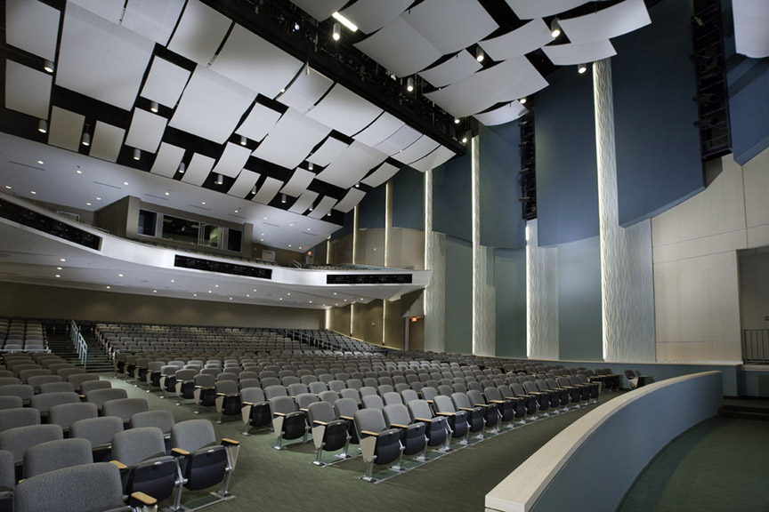 Acoustical Ceiling Panels from the NSU auditorium