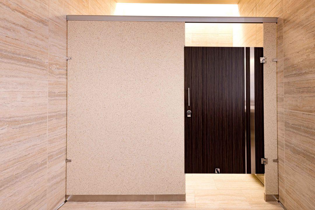Seminole Hard Rock Casino bathroom stall door