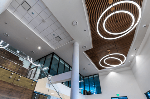 Boynton Beach City Hall and Library Ceiling