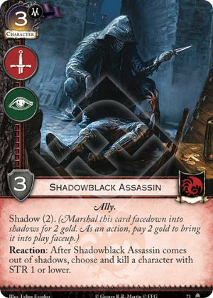 Shadowblack Assassin