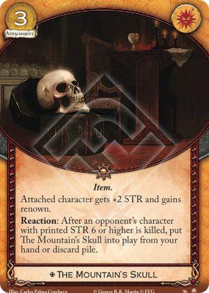 The Mountain's Skull