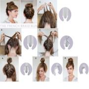 beautiful locks braids buns
