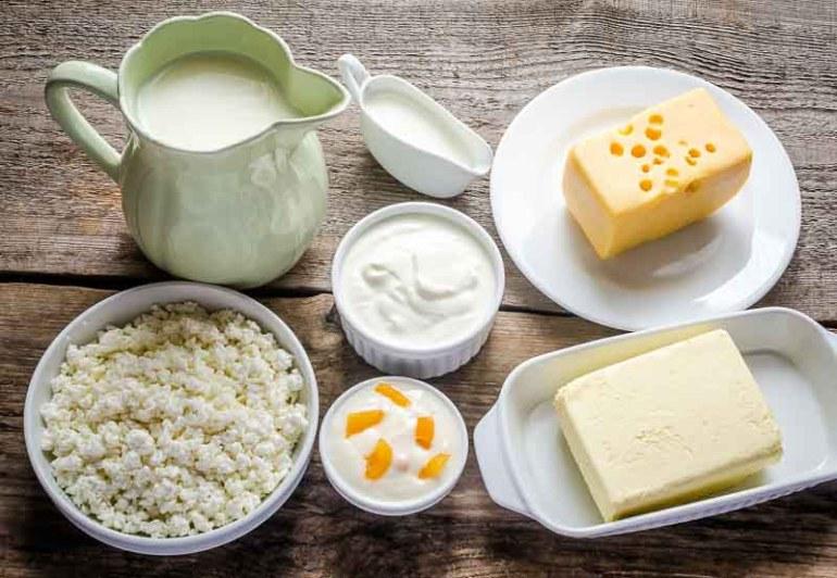 diverse produse lactate