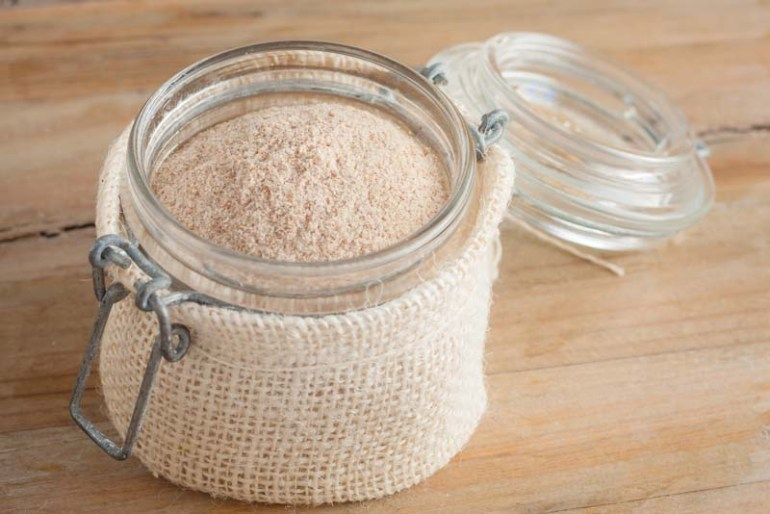 tarate de psyllium sau pudra in borcan este folosit in dieta lchf sau paleo