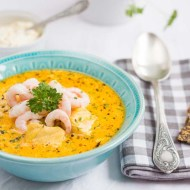 Supa de peste cu somon si cod