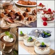 4 deserturi LCHF – sarace in carbohidrati