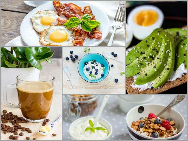 idei de mic dejun low carb high fat