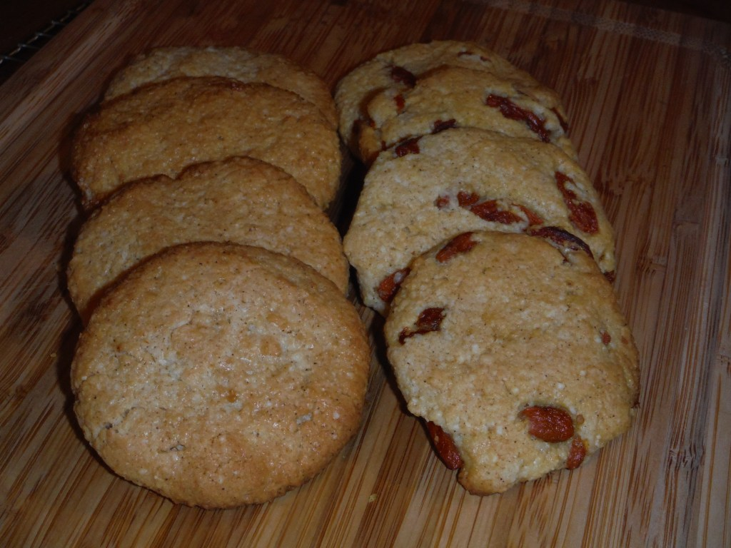 Coconut, Almond, Goji Cookies!