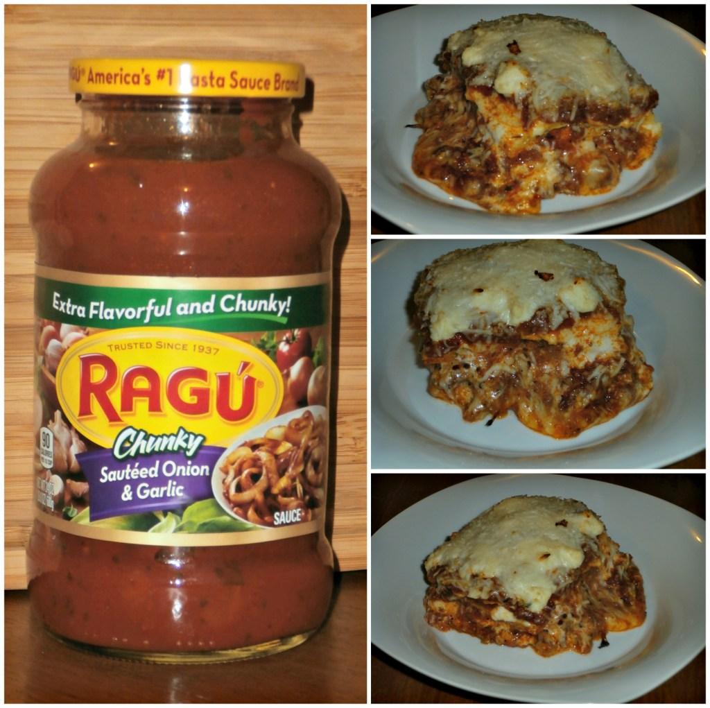 Delicious Homemade Lasagna @Ragu #SimmerInTradition