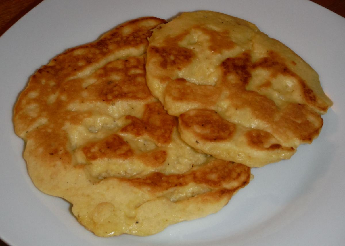 Faux Flatbread or Faux Arepa! #LowCarb