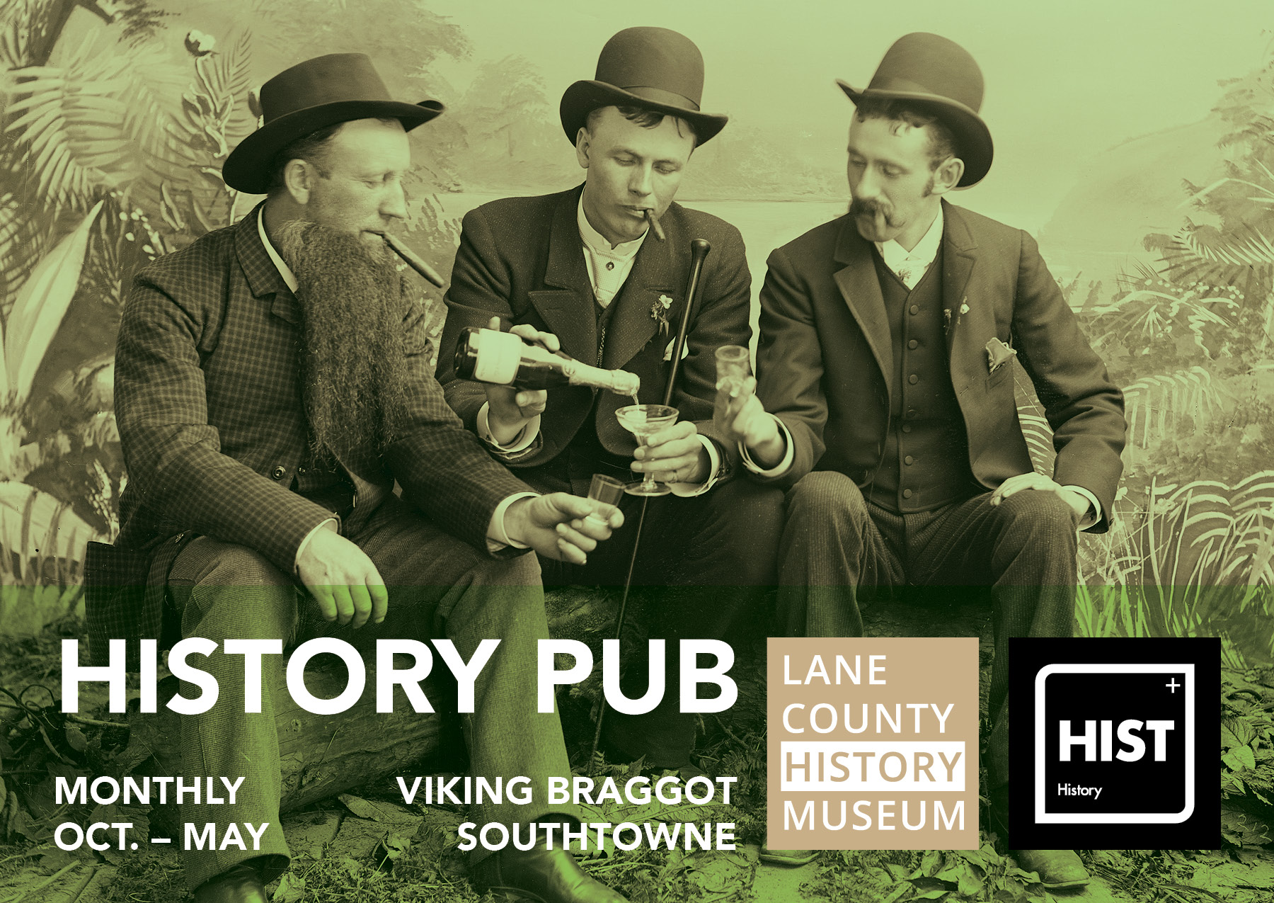 History Pub Monthly Oct-May, Viking Braggot Southtown