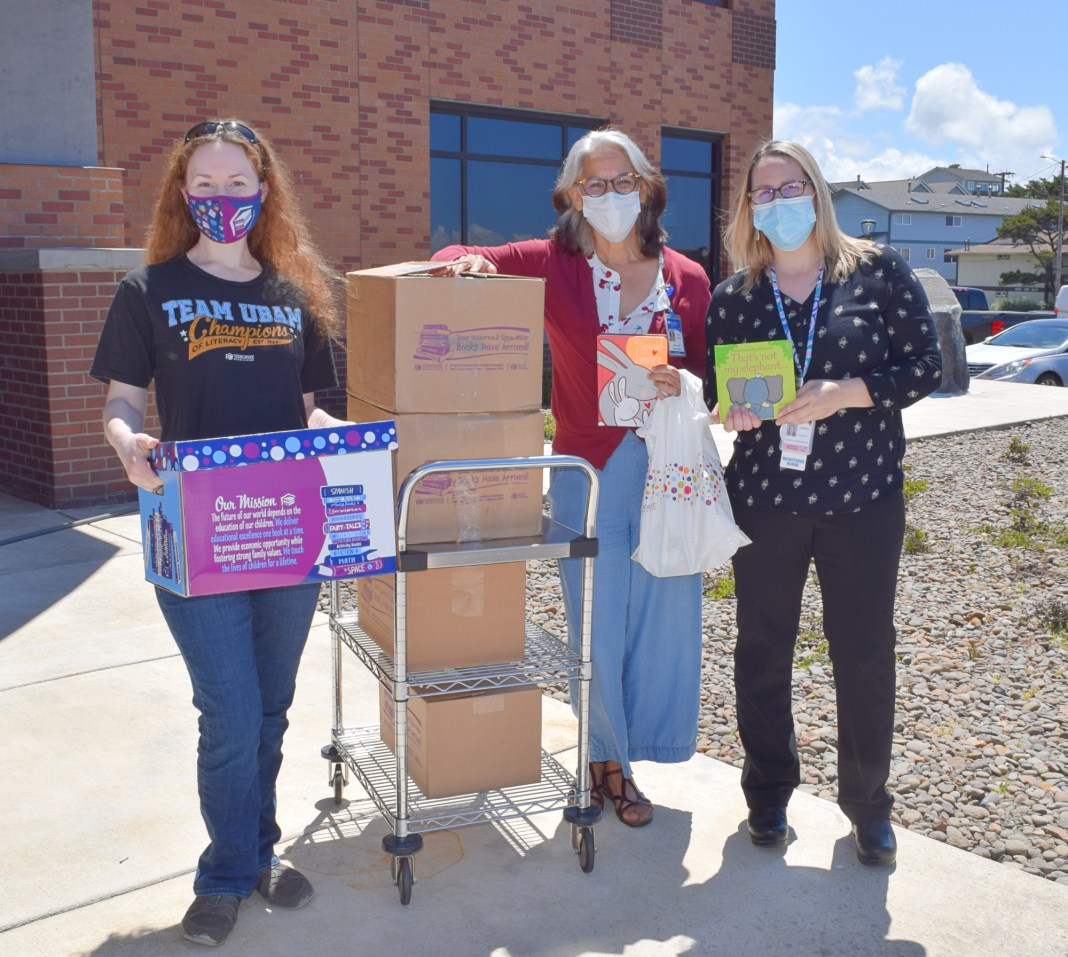 NEWPORT-- A Siletz mother who is also an independent book consultant asked the community to support her fundraiser to provide books to newborns at Samaritan Pacific Communities Hospital.