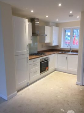 Kitchen designed and fitted by LCJ