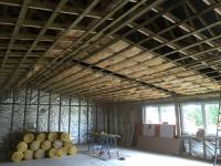 Insulating the ceiling