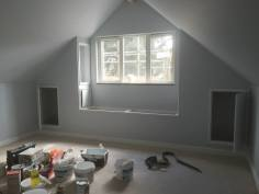 Internal window seating and storage