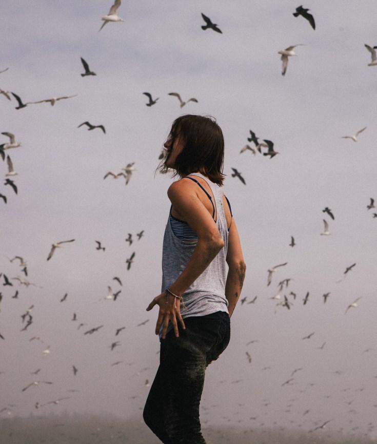 Birdwatching at Frensham Little Pond