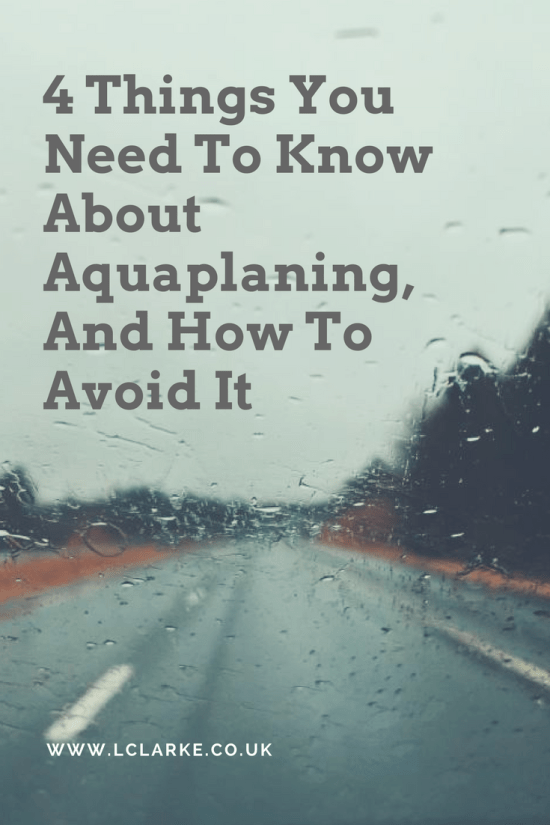 4 Things You Need To Know About Aquaplaning, And How To Avoid It | LClarke.co.uk