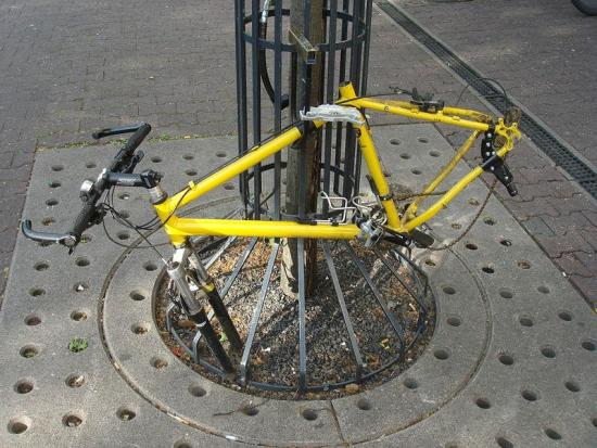 How to prevent bike theft