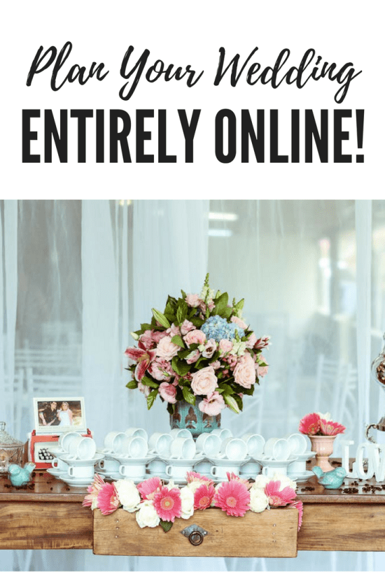 Plan your wedding entirely online