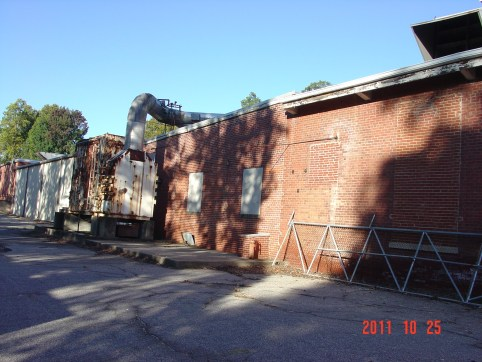 Demolition Wadesboro before