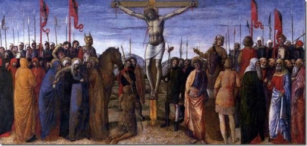 死在十字架上