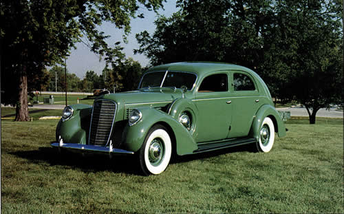 Jerry Capizzi's 1939 Lincoln K Sport Sedan