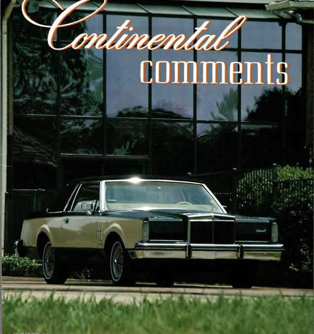Continental Mark VI