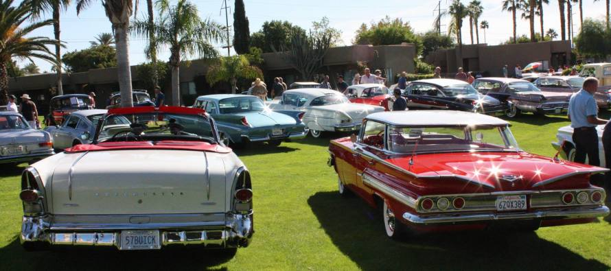 Palm Spring Concours October 15, 2016