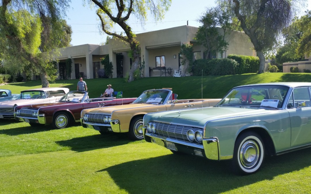 Palm Springs Casual Concours Salutes Lincoln