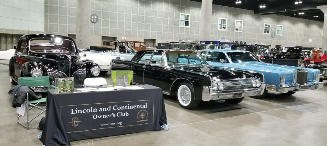 LCOC Members Exhibit at L.A. Classic Auto Show