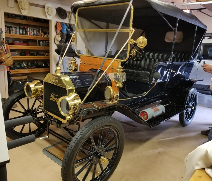 Model T at home