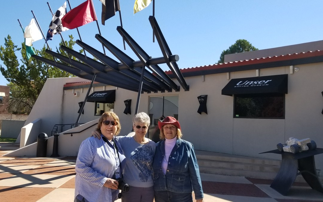 LCOC Ladies Visit the Unser Racing Museum